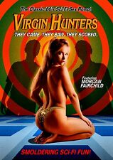 NEW DVD - VIRGIN HUNTERS -  Morgan Fairchild, Ian Abercrombie, ADULT - NUDITY