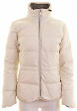 ADIDAS Womens Padded Jacket UK 10 Small White Polyester  HW18