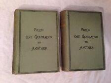 Henry Seton Merriman-von Generation zu Generation - 1st/1st 1892, zwei Vol
