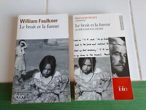 Livre Littérature Usa Américaine Faulkner Le Bruit La Fureur Commentaire Pitavy