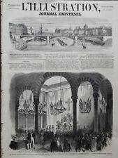 L' ILLUSTRATION 1859 N 857  AVEC SON SUPPLEMENT- TE DEUN CHANTE A TUNIS