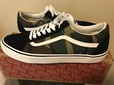 Vans OLD SKOOL Woodland CAMO (CAMOUFLAGE) Shoes Mens Size 13