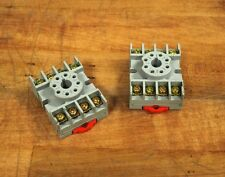 Square D 8501NR51 Relay Base - Lot of 2 - USED