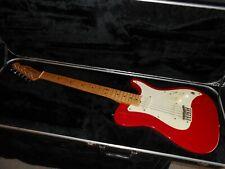 Fender Bullet USA 1981 with molded OHSC series 1 - Dakota Red