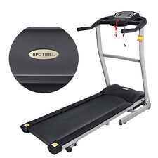 Fitness Electric Treadmill Exercise Equipment Folding Running Machine 400MM Wide