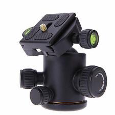12Kg Swivel Tripod Ball Head+Quick Release Plate for DSLR CAM Photo Video Camera