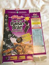 Curtis Joseph NHL 1996 Kellogs  Raisin Bran cereal  box : empty,flattened.