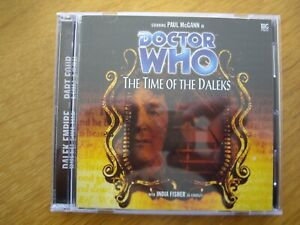 Doctor Who The Time of the Daleks, 2002 Big Finish audio book CD *OUT OF PRINT*
