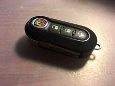 2012-13 ABARTH FORD FIAT 500 3 BUTTON FLIP KEY LESS ENTRY REMOTE LTQF12AM433TX