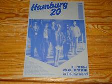 RCA HAMBURG 20 (2/86) / PROMO-HEFT: LATIN QUARTER, BONO, ACCEPT, ULLA MEINECKE