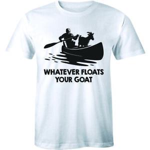 Whatever Floats Your Goat Shirt - Funny Farm Women's T-shirt Tee
