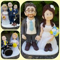 Bespoke Handmade Personalised Wedding Cake Toppers *Made for all occasions!*