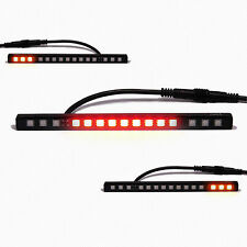 Licence Plate Mount With Integrated LED Rear Light Universal Motorbike & Scooter