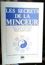 LES SECRETS DE LA MINCEUR REGIME CURATIF TAOISTE Dr T  Chang