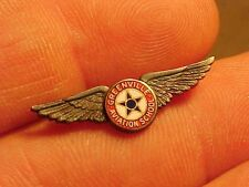 RARE WWII USAAF GREENVILLE SC AVIATION SCHOOL SMALL INSTRUCTOR WINGS