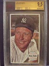 1964 Topps Giants #25 - Mickey Mantle - BVG 9.5 Gem Mint - HOF - WOW - Yankees