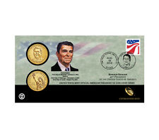2016 RONALD REAGAN ONE DOLLAR COIN COVER-P AND D -SEALED IN WHITE SHIPPER  #16FC
