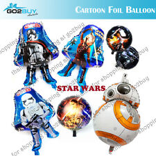 Star Wars Awakens Foil Balloon Clone Tooper BB8 Phasma Jedi Party Decorations