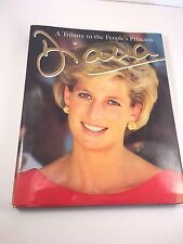 Princess DIANA Large Photo Illustrated HBDJ  A Tribute to the People's Princess