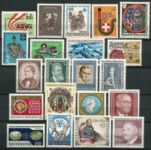 Austria 1981 MNH Collection Commemorative  Stamps