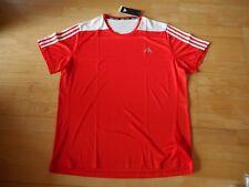 adidas Running Shirt Trikot Gr. S neu/OVP rot/weiß