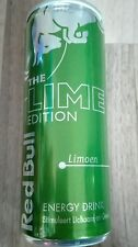1 Energy Drink Dose Red Bull Lime Alte Edition NL Full Voll 250ml Can Limoen