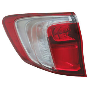Tail Light Assembly-Capa Certified TYC 11-6844-00-9 fits 16-18 Acura RDX