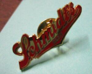Vintage Schmidt's Beer pin pinback NOS St Paul Minnesota