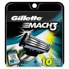 Gillette Mach3 Razor Blade Cartridges - 10 Count