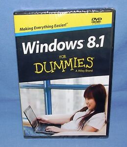 WINDOWS 8.1 for DUMMIES, A Wiley Brand -  DVD Video - NEW
