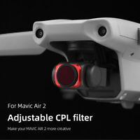 Adjustable CPL Filter Accessories for DJI MAVIC AIR 2 Waterproof Camera Lens