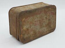 Vintage Advert Boyce Weaver Knotter Medical Device Box Gastonia Nc Case Tin 1926
