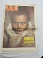 NME new musical express 1982 16th JANUARY ADAM ANT antrant !