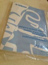 Yamaha PW80S PW80 S PW 80 80PW Peewee manuel atelier proprietaire  éd. 2003