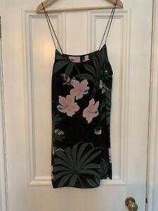 Topshop Boutique Size 16 Silk Slip Dress