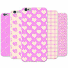 Love & Hearts Pink Passion Snap-on Hard Back Case Phone Cover for Apple Phones