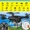 SH5HD 2.4G 4CH 1080P 2MP HD Camera WiFi Selfie RC Drone FPV 6 Axis Quadcopter US