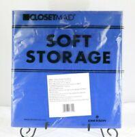 """Soft Storage Fabric Storage Cube Blue 10.5"""" x 10.5"""" x 11"""" T3"""