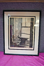 """The Anvil"" by Robert Sarsony  - Signed and Numbered Framed Lithograph (A1040)"