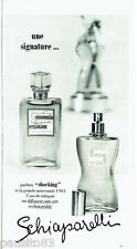 PUBLICITE ADVERTISING 036  1965   Schiaparelli  parfum eau de Cologne Shocking