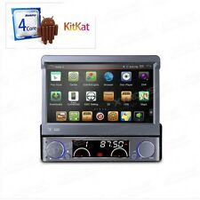 XTRONS D766A AUTORADIO 1 DIN GPS ANDROID 4.4.4 QUADCORE WI-FI 3G USB TV DIGITALE