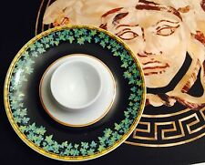 VERSACE GOLD IVY PLATE EGG HOLDER  candle  ROSENTHAL new retired
