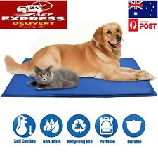 Pet Dog Cool Pad Gel Mat for Dogs Cats Beds Self Cooling Gel Pads Cushion Sofa