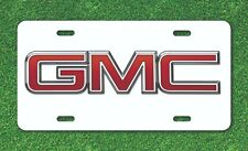 GMC General Motors Chevy Vehicle License Plate Auto Tag Aluminum .032 thick
