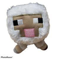 """Minecraft White Baby Sheep Plush 6"""", Mojang 2014"""