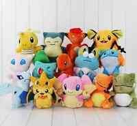 Pokemon Go Peluche Muñeco de peluche Pikachu Psyduck Flareon Juego coleccionable