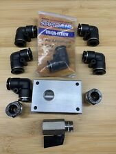 MaxLine 1/2 In Air Compressor Kit w/ 3/8 In Npt Fittings & distribution block