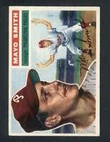 1956 Topps #60 Mayo Smith EX/EX+ Phillies Grey Backs 132073