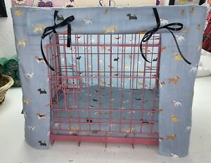 MADE TO MEASURE DOG / PUPPY CRATE / CAGE COVER / ALL BREEDS FABRIC / 3 COLOURS
