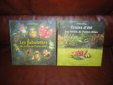 LES FABULETTES DES DROLES DE PETITES BETES + CONTES D'ETE ( ALBUM 3 CONTES )